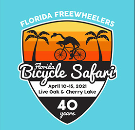 Florida Bicycle Safari 2021 Logo